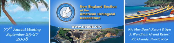 NEAUA 77th Annual Meeting, September 25 - 27, 2008, Rio Mar Beach Resort & Spa – A Wyndham Grand Resort, Rio Grande, Puerto Rico