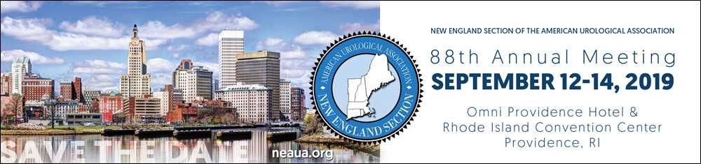 NEAUA 88th Annual Meeting, September 12-14, 2019, Omni Providence Hotel & Rhode Island Convention Center